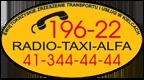 TaxiAlfa Logo