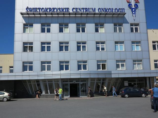 Onkologia - ul. Artwińskiego Kielce