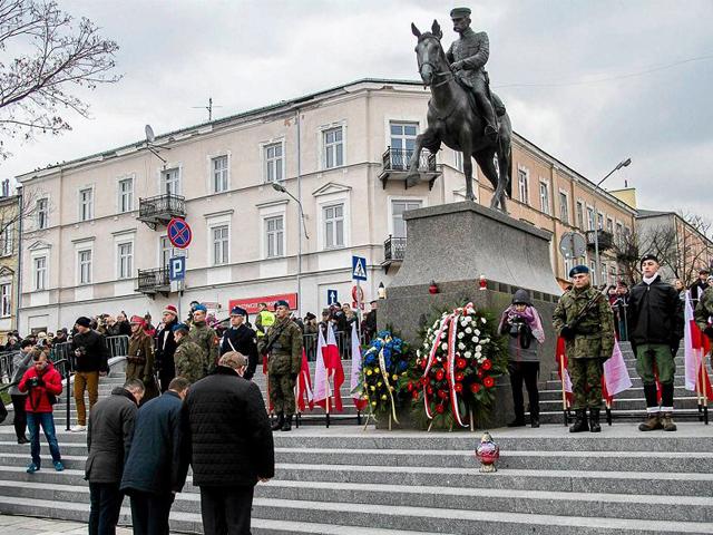 Plac Wolności w Kielcach