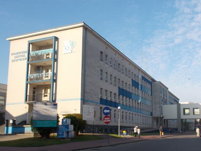 Wojewódzki Szpital Zespolony oraz Szpital Dziecięcy przy ul. Grunwaldzkiej